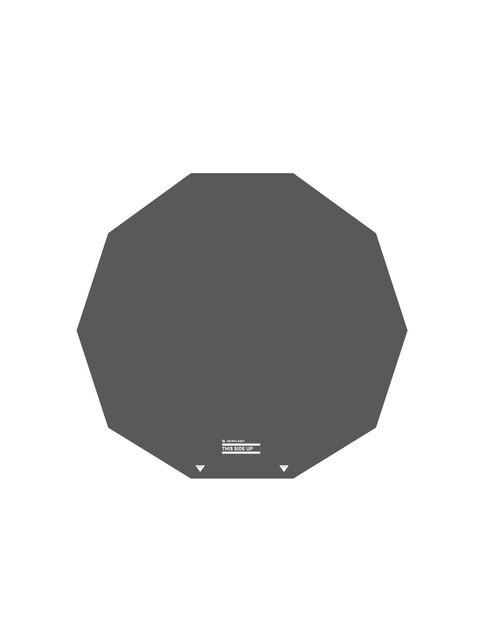 Heimplanet Ground Sheet for The Cave - Accessoire tente - gris